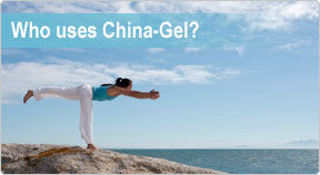 Who uses China-Gel