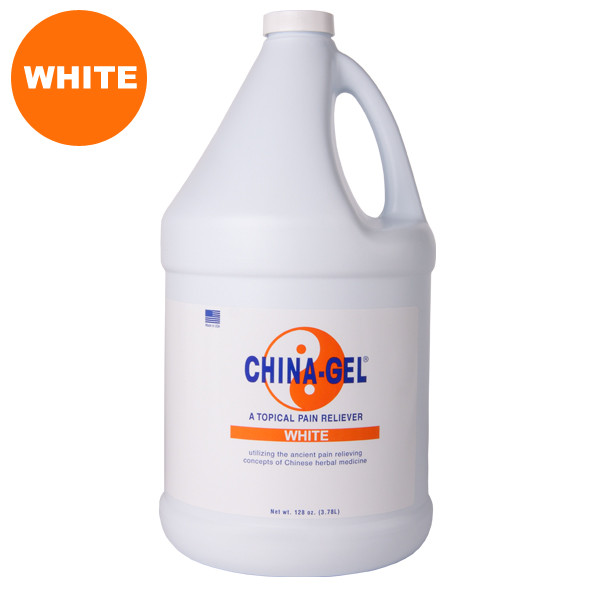 China-Gel White Gallon with Pump