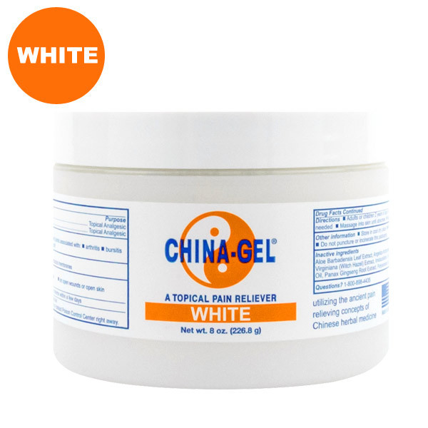 China-Gel White 8 oz. Jar